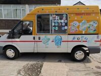 READY TO GO ICE CREAM VAN FOR SALE FORD Transit 2.4 TDCi 350 Duratorq High Roof MWB 3dr