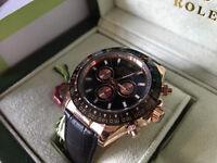 New Swiss Rolex Daytona Automatic Watch Black