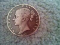 QUEEN VICTORIA SILVER COIN 1847