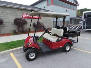 2007 Yamaha Drive 4 Passenger Utility Box Golf Cart