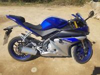 Yamaha YZF-R125 YZFR125 ABS 124cc