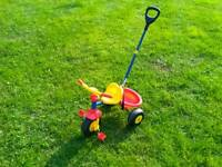 Toddler's Trike with handle