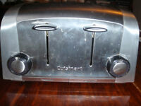 Cuisinart 4 slice Toaster brushed stainless ( like Dualit )