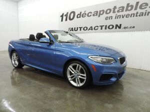 2015 BMW Série 2 228i xDrive DÉCAPOTABLE M-PACKAGE 2.0 BI-TURBO