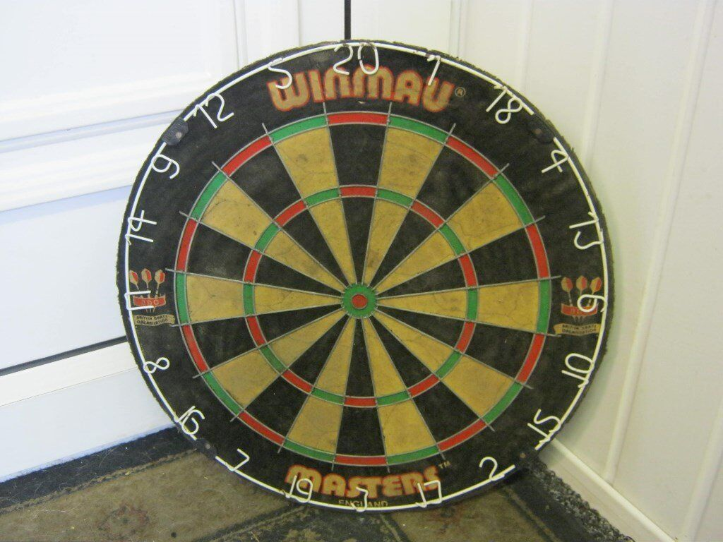 Man Cave Store Cookstown : Winmau masters pub dart board ideal for mancave in mansfield