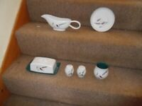 6 Items of Denby Green Wheat pottery