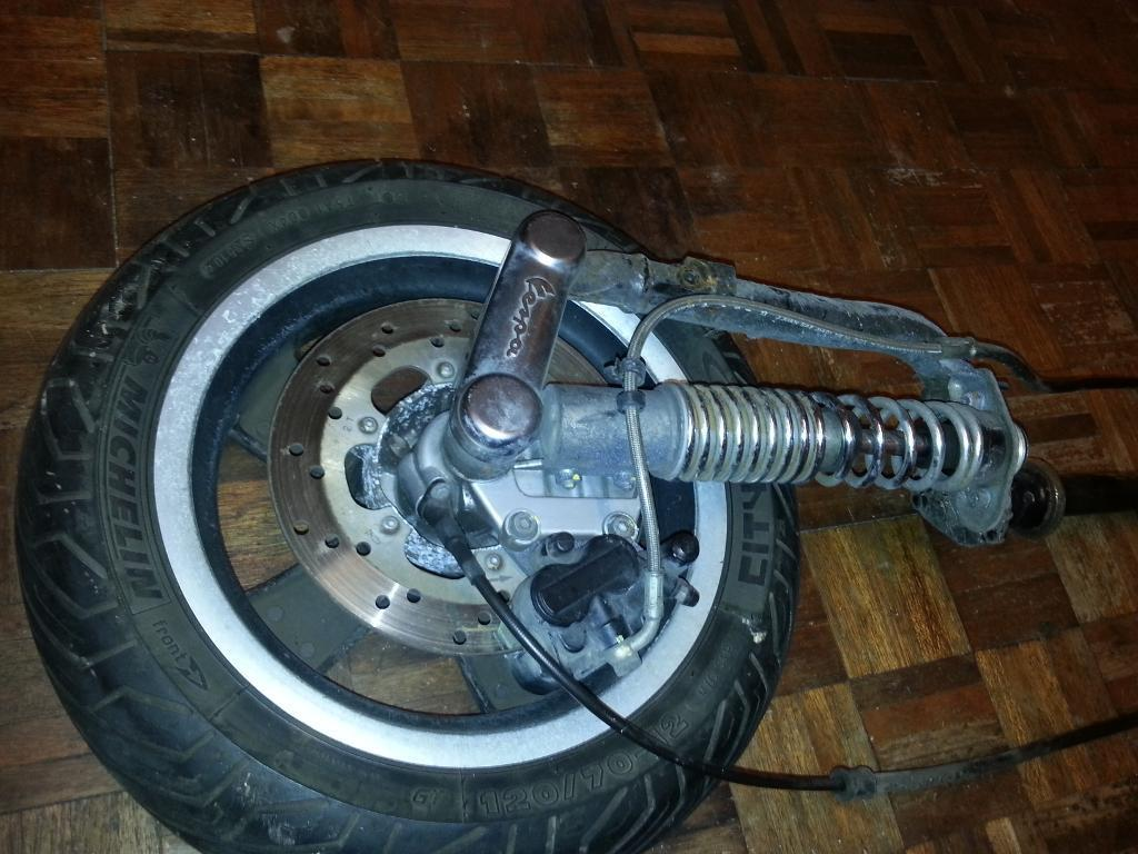 Vespa Gts 300 Parts Suspension Forks Front Brake With