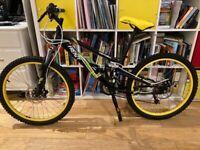 """24"""" Wheel Apollo Frenzy Bike Good condition"""