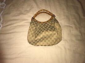 Genuine ladies vintage Gucci handbag