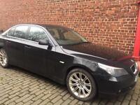 2006 BMW 525D Black Leather