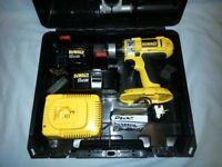 """Dewalt XRP 1/2"""" 18V Cordless DW988K2 - Drill Screwdriver Hammer Drill All Metal Gears - AS NEW"""