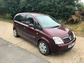 2004 Vauxhall Meriva 1.6 moted
