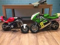 Pair of mini moto