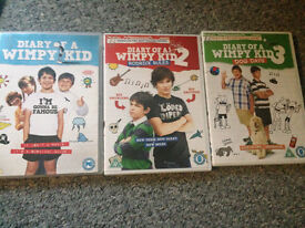 Diary of a Wimpy Kid 1, 2, 3