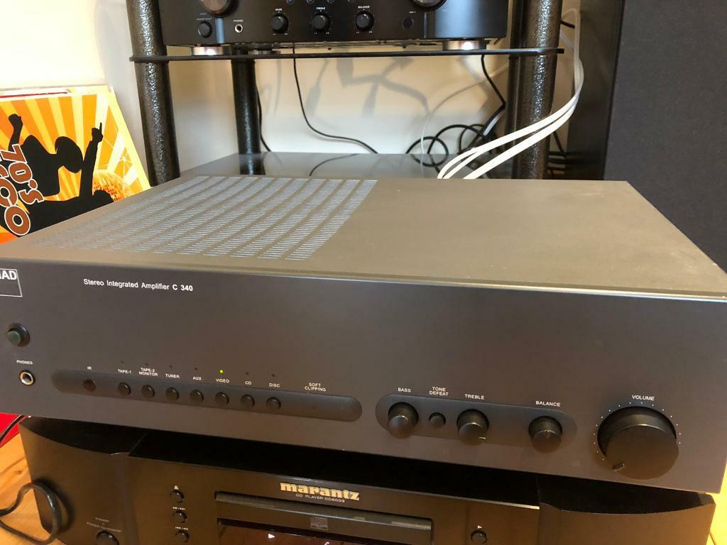 NAD C340 Integrated Stereo Amplifier | in Lisburn, County Antrim | Gumtree
