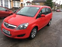 Uber Ready PCO Car/Minicab For Sale,2013 Vauxhall Zafira 1.8 Petrol Low Mileag 7 Seater Pco Car Sale
