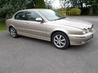 JAGUAR X TYPE 2.0 DIESEL METALIC GOLD EXCELLENT CONDITION