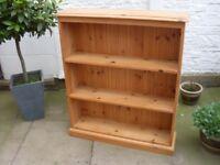 Pine Bookcase.