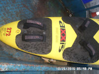 Axxis 272 Wind surf board 95 L peter thommen in fair condition ,,