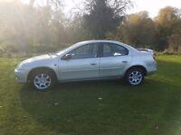 Chrysler Neon 2.0 Lt. LX Plus Automatic, petrol. Brand new MOT!