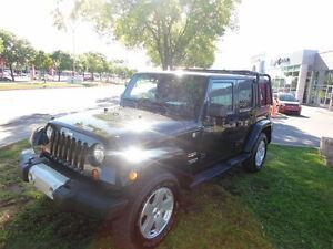 2011 Jeep WRANGLER UNLIMITED Sahara*LEATHER SEATS*NAVIGATION*SPE