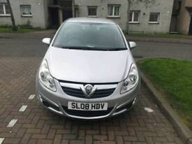 2008 Diesel Vauxhall Corsa for sale