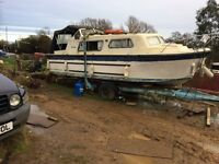 Norman Cruiser 23ft in need of a little TLC