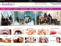 Hair dressing chair & Nail technician table to rent in a busy shopping centre based salon (Stevenage
