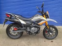 MINT 2014 KEEWAY TXM 125CC SUPERMOTO VERY LOW MILES