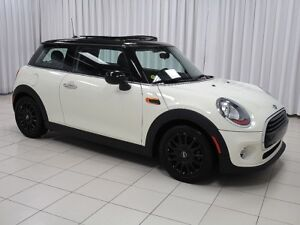 2016 Mini Cooper 3 DOOR TURBO 6 SPEED w/ HEATED SEATS, DUAL MOON