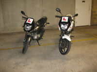 HONDA CBF 125CC FOR SALE. (I have two)