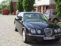 Top of the range 2007 Black 3.0 Jaguar S-Type Auto 56k miles, new MOT and Service