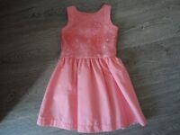 Gorgeous peach dress age 3-4