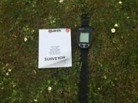 Mares Surveyor Dive Watch Computer Unused Gift £85.00 Altrincham Area