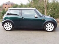 MINI COOPER 1.6 2002 MOT SEPTEMBER 2018 SERVICE HISTORY-HALF LEATHER-ALLOYS -AIR CON-STUNNING CAR
