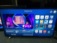 "Digihome 50"" smart FULL HD LED TV scratch on screen"