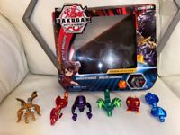 Kids toy Bakugan battle planet pack and extra ones bought