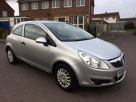 Vauxhall Corsa 1.0 i 12v Life 3dr - 1 year MOT, great condition, low mileage