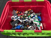 Huge tub of Genuine Lego