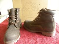 Timberland Basic Brown Suede Boots. Size 6.5.