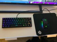 60% smaller keyboard and mouse