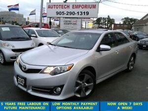 2013 Toyota Camry SE Navigation/Cam/Sunroof/Leather/btooth