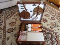 Two Retro (1950's 60's) Picnic Sets - Both Complete