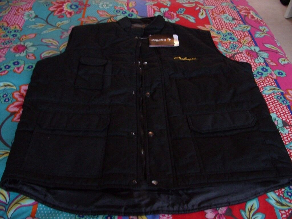 Challenger Black XXL Regatta Professional Body Warmer