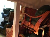 Leather quality secondhand suites choice of 16