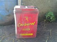 old oil can carburol