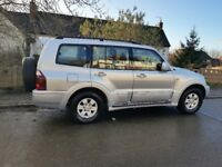 mitsubishi sharan 4x4 auto 7 seater 3.2 diesel hpi clear