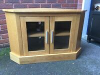 Reduced John Lewis Solid Oak Corner unit