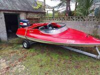 Simms super v speed boat