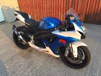 STUNNING 2013 GSXR 750 L3 - LOW MILES - IMMACULATE CONDITION - £2k OF EXTRA'S